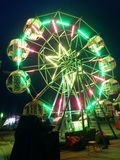 Roliga Ferris Wheel royaltyfri fotografi