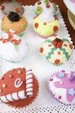Roliga muffin Royaltyfria Foton