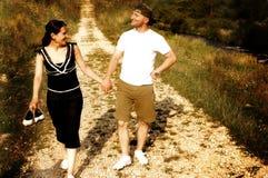 roliga par fotografering för bildbyråer