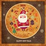 Roliga Santa Claus Royaltyfri Fotografi