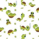 roliga sköldpaddor Royaltyfri Foto