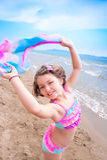 Roliga sommarsemestrar Royaltyfri Fotografi