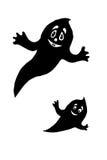 roliga spökar Arkivbild