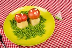 Roliga veggies Royaltyfri Foto