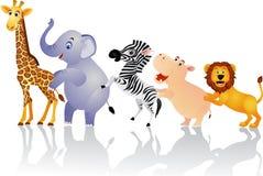 roligt djur Arkivbild
