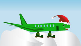 Roligt flygplan Royaltyfri Foto