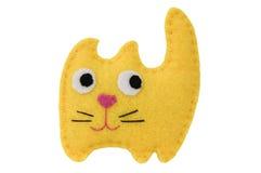 Handgjord katt Arkivfoton