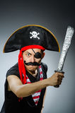roligt piratkopiera Arkivbild