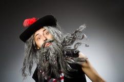 roligt piratkopiera Arkivfoto