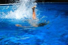 roligt vatten Royaltyfri Bild