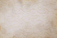 Rośliny deseniowa tkanina Obrazy Royalty Free