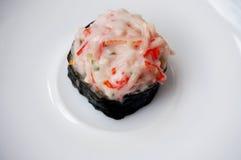 Rolka kraba kija sałatki suszi zdjęcie royalty free