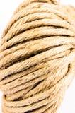 Rolka linowa tekstura, burlap zdjęcia stock