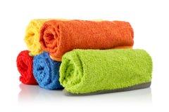 rolka multicolour ręczników Zdjęcie Royalty Free