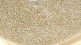 Rolka papierów kuchennych ręczników tekstura zbiory wideo