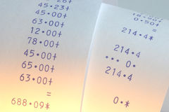 rolka papierowej Obraz Stock