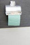 Rolka papieru toaletowego właściciel w toalecie Obraz Royalty Free