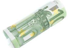 Rolka sto euro Zdjęcie Stock