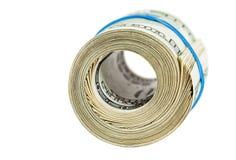 Rolka zawijająca gumą dolar amerykański Zdjęcia Royalty Free