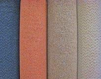 Rolki dywan zdjęcie royalty free