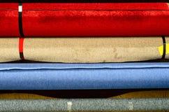 Rolki dywan obrazy royalty free