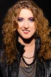 rolki rockowa kobieta Zdjęcie Stock