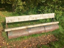 Rolkowa ławka Obraz Stock