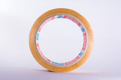 Roll Adhesive Tape Clear Packing Industry Construction Tool Stock Images