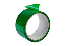 Roll adhesive tape isolated. Royalty Free Stock Image