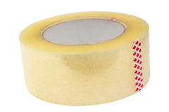 Roll of adhesive tape. Stock Photos