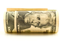 roll of american dollars Royalty Free Stock Photography