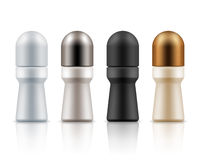 Roll on antiperspirant deodorants packages Royalty Free Stock Photography