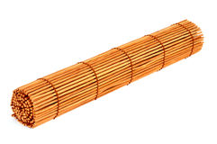 Roll of bamboo curtain Royalty Free Stock Images