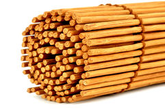 Roll of bamboo curtain Stock Photo
