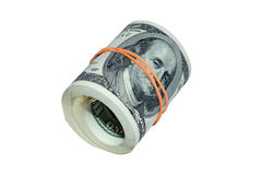 Roll of banknote Royalty Free Stock Photo