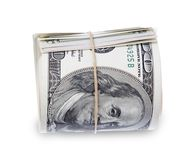 Roll of banknotes Stock Photo