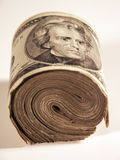 Roll of bills Stock Photo