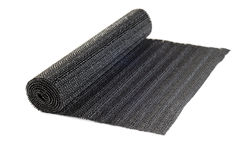 Roll of black liner for shelves and drawers Stock Images