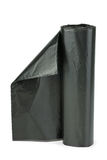 Roll of black plastic garbage bags Royalty Free Stock Photo