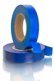 Roll of blue Insulating Tape Royalty Free Stock Photography
