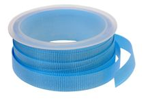 A roll of blue ribbon Royalty Free Stock Photography