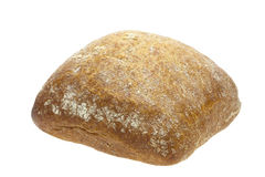 Roll bread. On white background. This has a clipping path Stock Photo