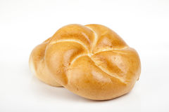 Roll bread isolated on white background Royalty Free Stock Image
