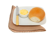 Roll and butter Stock Photography