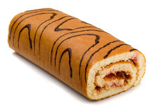 Roll cake Stock Photography