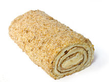 Roll cake. Stock Photo