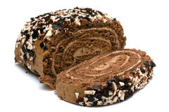 Roll cake Royalty Free Stock Image
