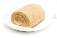 Roll Cake A Stock Photo