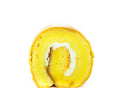 Roll cake on Stock Photography