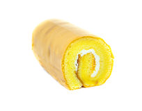 Roll cake on Stock Image